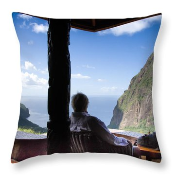 Traveling Thoughts Throw Pillow