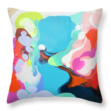 Travelling Back In Time Throw Pillow