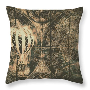Travelling Throw Pillows