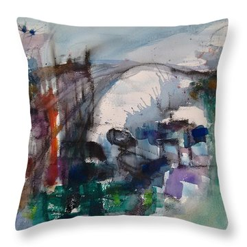 Travels Throw Pillow