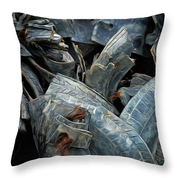 Treads Throw Pillow