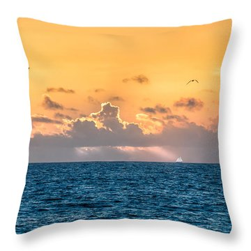 Treasure Coast Imaginations Throw Pillow by Craig Szymanski