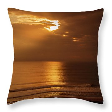 Treasure  Coast Sunrise Throw Pillow
