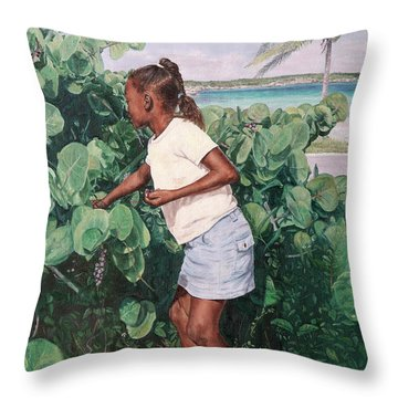 Treasure Cove Throw Pillow