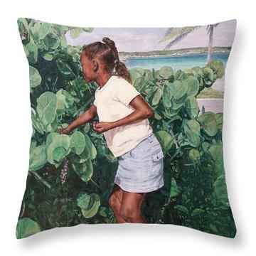 Treasure Cove Throw Pillow