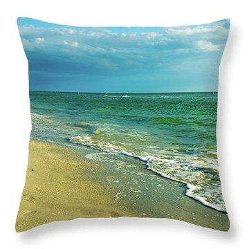 Treasure Island L Throw Pillow