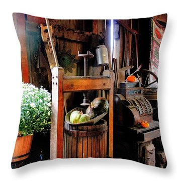 Treasures Of  Fall Throw Pillow
