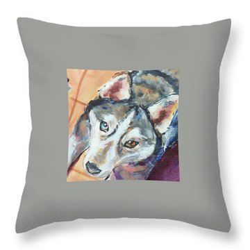 Treat Time Throw Pillow