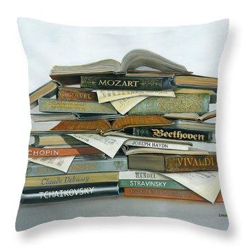 Treble Makers Throw Pillow