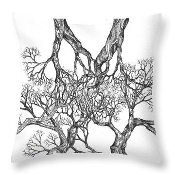 Tree 12 Throw Pillow