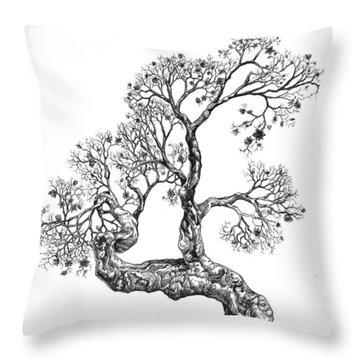 Tree 14 Throw Pillow