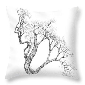 Tree 43 Throw Pillow