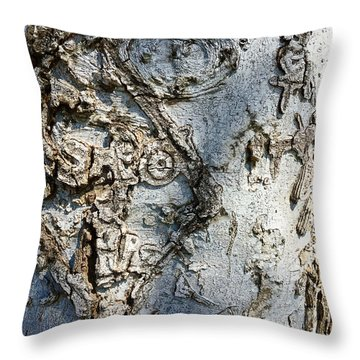 Tree At Pitt Street Pier Throw Pillow