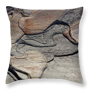 Throw Pillow featuring the photograph Tree Bark 2 by Jean Bernard Roussilhe