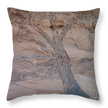 Throw Pillow featuring the photograph Tree by Charles Robinson