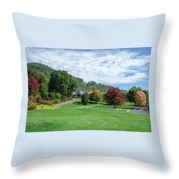 Tree Color Pop Throw Pillow