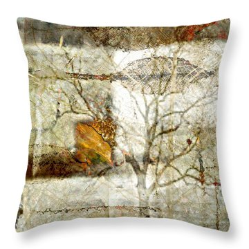 Tree Deconstructed 1 Throw Pillow