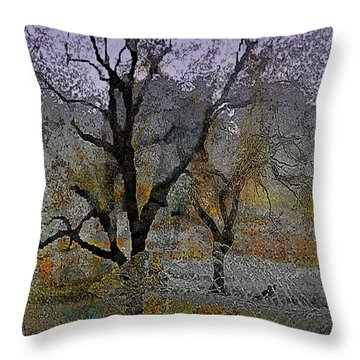 Tree Deconstructed 6 Throw Pillow