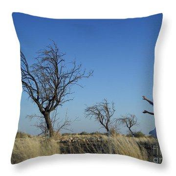 Tree Echo Throw Pillow