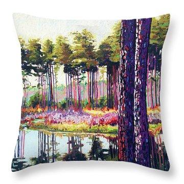Tree Farm II Throw Pillow
