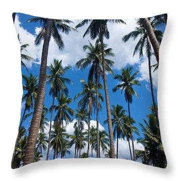 Tree Giants Throw Pillow