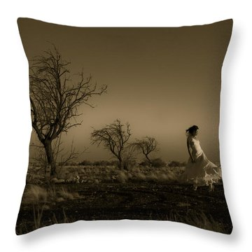 Tree Harmony Throw Pillow
