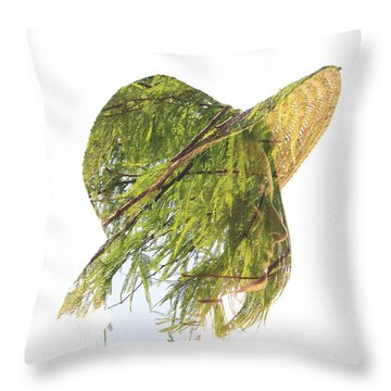 Tree Hat Throw Pillow