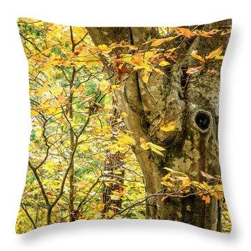 Tree Hollow Throw Pillow