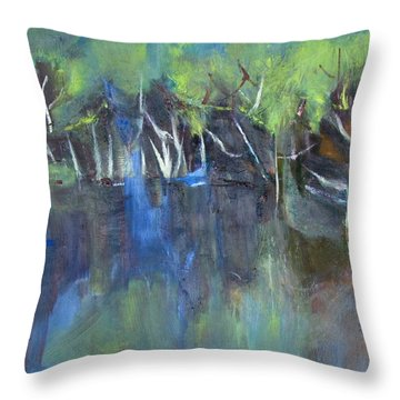 Tree Imagery Throw Pillow