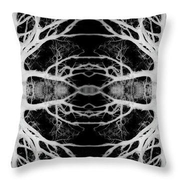 Tree Kaleidescope  Throw Pillow