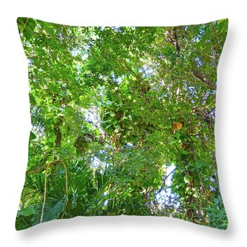 Throw Pillow featuring the photograph Tree M2 by Francesca Mackenney