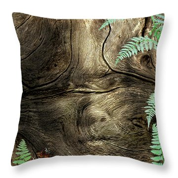Throw Pillow featuring the photograph Tree Memories # 32 by Ed Hall