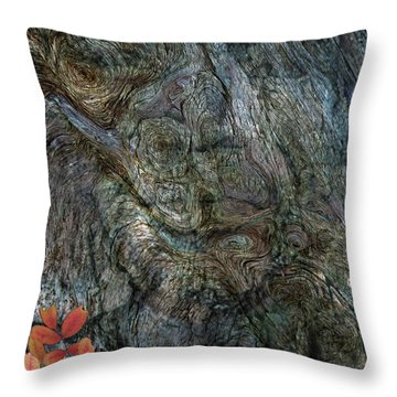Throw Pillow featuring the photograph Tree Memories # 33 by Ed Hall