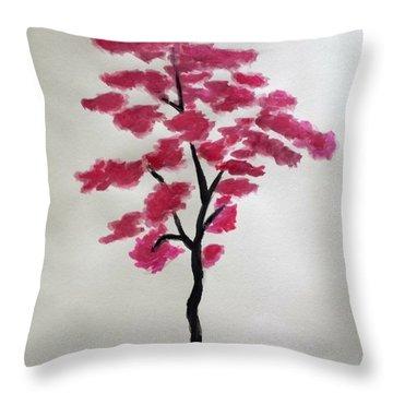 Tree Of Grace Throw Pillow