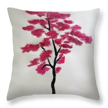 Tree Of Grace Throw Pillow