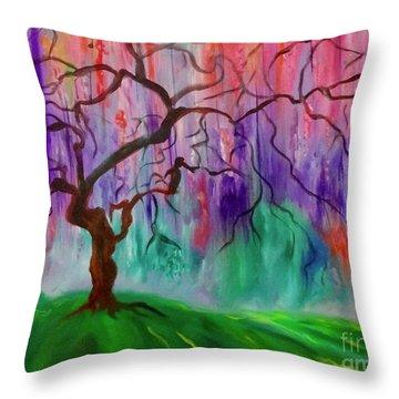 Tree Of Life 11 Throw Pillow