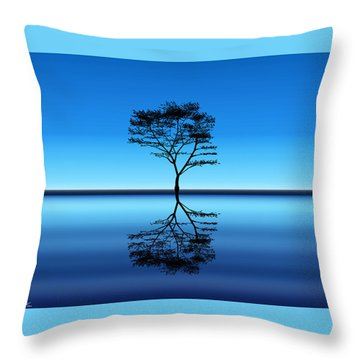 Tree Of Life Throw Pillow by Bernd Hau