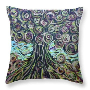 Tree Of Life- Fall Throw Pillow