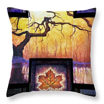 Tree Of Life The Giver Throw Pillow