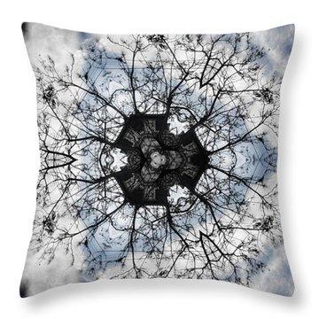 Tree Of Life Throw Pillow by Jorge Ferreira
