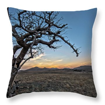 Tree Of Lost Souls Throw Pillow