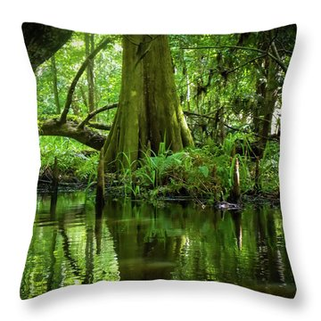 Tree Of My Soul Throw Pillow