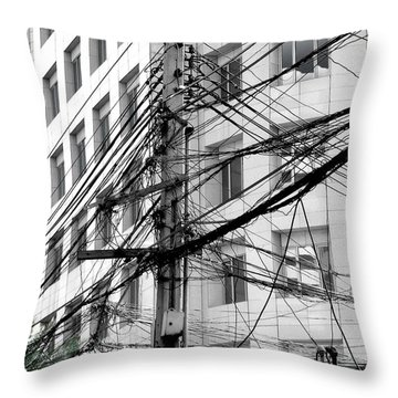 Tree Of Progress Throw Pillow