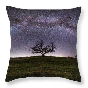 Tree Of Serenity  Throw Pillow