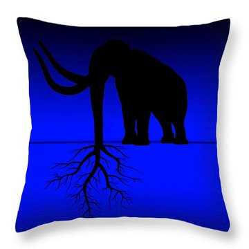 Tree Of Strength Prosperity And Longevity Throw Pillow