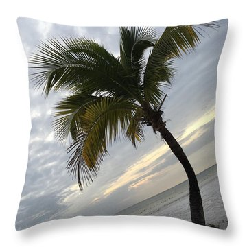 Throw Pillow featuring the photograph Tree Pose by Jean Marie Maggi