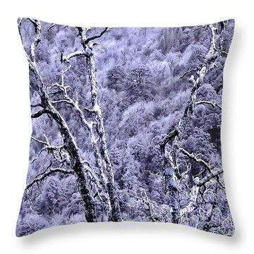 Tree Sprite Throw Pillow