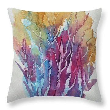 Tree Studies I Throw Pillow
