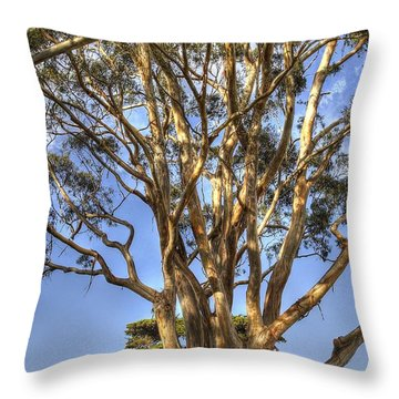 Tree To The Heavens Throw Pillow