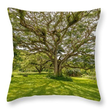 Treebeard Throw Pillow